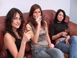 imagen Orgía con unas universitarias borrachas