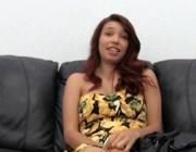 imagen Colombiana en entrevista antes de follar