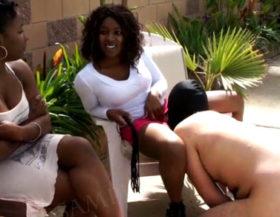 imagen Mujeres negras con esclavos blancos para follar