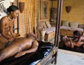 imagen Ritual africano que termina en una orgia